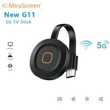 Buy New MiraScreen G11 TV Stick wireless HDTV stick inside antenna HDMI 5G WiFi Display Miracast morring  5G TV stick directly from merchant!
