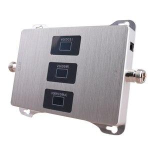 Image 5 - נייד 2G 3G 4G Tri Band אות משחזר 900 1800 2100 מאיץ GSM DCS WCDMA אות סלולארי מגבר עם אנטנה מלא סט