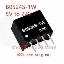 1PCS/LOT 100% new original B0524S-1W B0524S 1W B0524 5V to 24V isolated boost power module