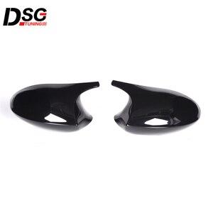 Image 3 - ABS Gloss Black Rear View Mirror Caps For BMW 3 Series E90 E91 05 07 & E90 E92 06 09 Replacement Cover E81 E82 E87 E88 pre LCI