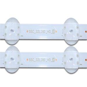 Image 5 - Tira de LED para iluminación trasera para LG 32LJ510U S 510u, 8LED, 600mm, 20 Uds.