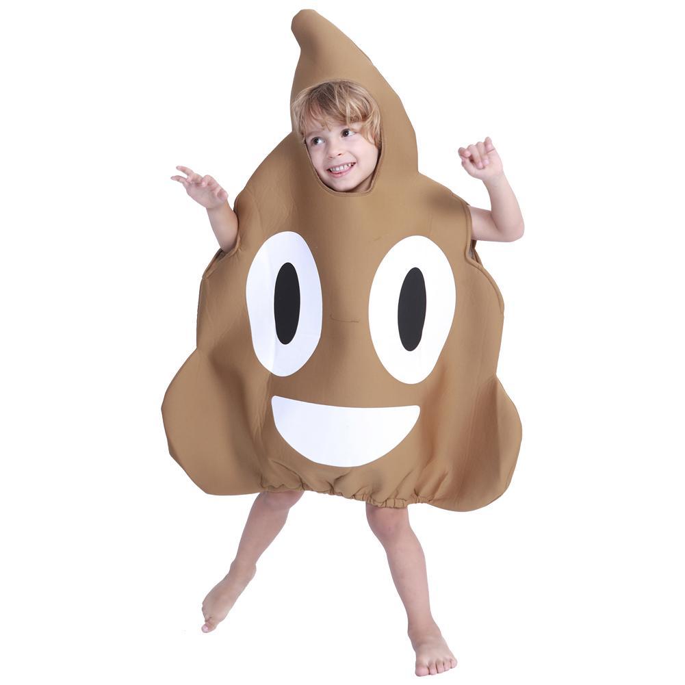 Halloween Costume Sponge Poop Party Toy Set For Children Christmas Halloween Cosplay Costume Sponge Poop