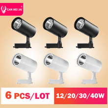 Rail Spotlights-Fixture Track-Light Ceiling-Spots-Lamp Led Kitchen 40W 12W 220V for Home