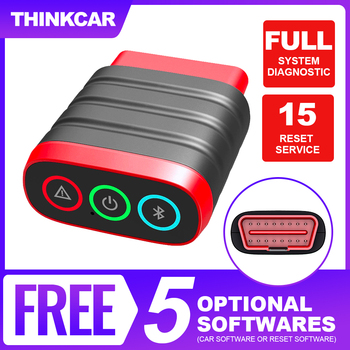 THINKCAR Thinkdiag Mini OBD2 Scanner Professional Full System Car Diagnostic Tools Easydiag Bluetooth OBD 2 Scanner Automotriz launch x431 pro mini with bluetooth function full system 2 years free update online mini x 431 pro powerful auto diagnostic tool