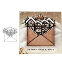Clear Stamps Silicone Seal for DIY Scrapbooking Card Envelope House Rubber Stamps Making Photo Album Handmade Decorative Crafts(China)
