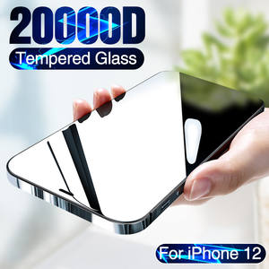 20000D Full Cover Tempered Glass For iPhone 12 mini Screen Protector For iPhone 12 Pro