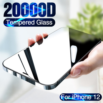 20000D Full Cover Tempered Glass For iPhone 12 mini Screen Protector For iPhone 12 Pro Max Screen Protector iPhone 12 Glass film 1