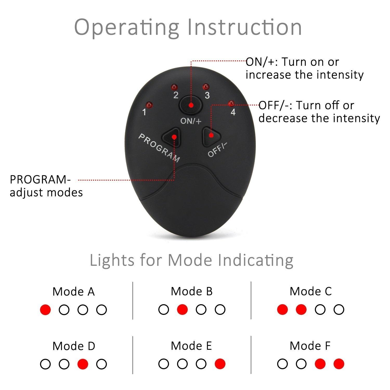 12 adet/takım 10 sınıf 6 mod Unisex EMS kalça eğitmen ve popo Toner,EMS kas  stimülatörü karın yağ yakma eğitim dişli Vücut şekillendirme masaj  ekipmanları  - AliExpress