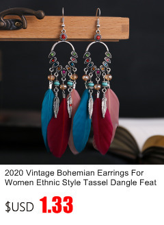 Богемные Винтажные серьги для женщин Ретро кисти в этническом