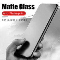 Vidrio Templado mate esmerilado para xiaomi, protectores de pantalla de vidrio, película protectora, para xiaomi xaomi mi 8 9 se 10 lite light 9t a3