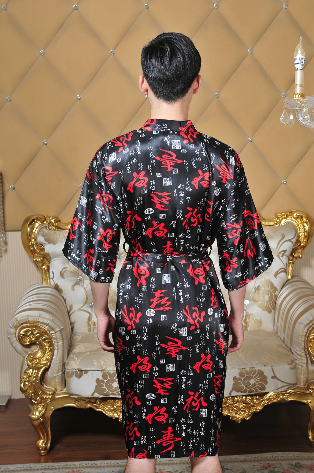 Da Flor do Estilo Chinês Sleepwear Intimate