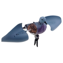NEW-Hunting Decoys Lifelike Flying Pigeon Decoy Bird Deterrent Garden Decoration Scarecrow for Fishing Camping Supplies outdoor hunting shooting decoys flying bird hawk for pigeon decoys garden yard plant scarer pest control bird caller good traps
