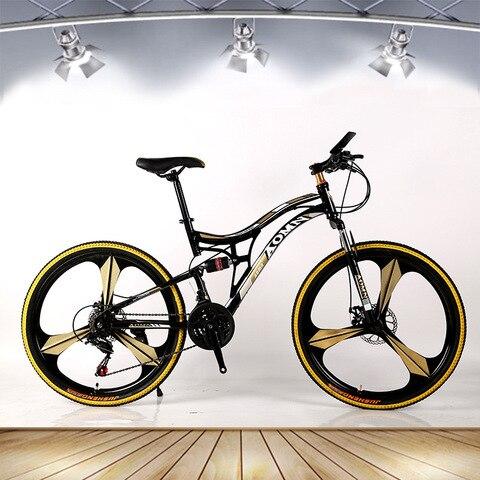 Bicicleta de Montanha Fora de Estrada do Sexo Masculino e Feminino Velocidade Polegadas Estudantes Adultos Uma Roda Raios Bicicleta Dobrável 21 26