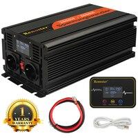 2000/4000W wireless Inverter Charger Converter LED Transformer Modified Sine Wave Inverter 12V to 220V with control display car