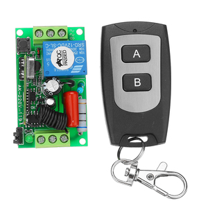 Image 3 - AC220V 1channel 10A Wireless Remote Control Switch Relay 315MHz 433MHz Output Radio Receiver Module With Waterproof Transmitter