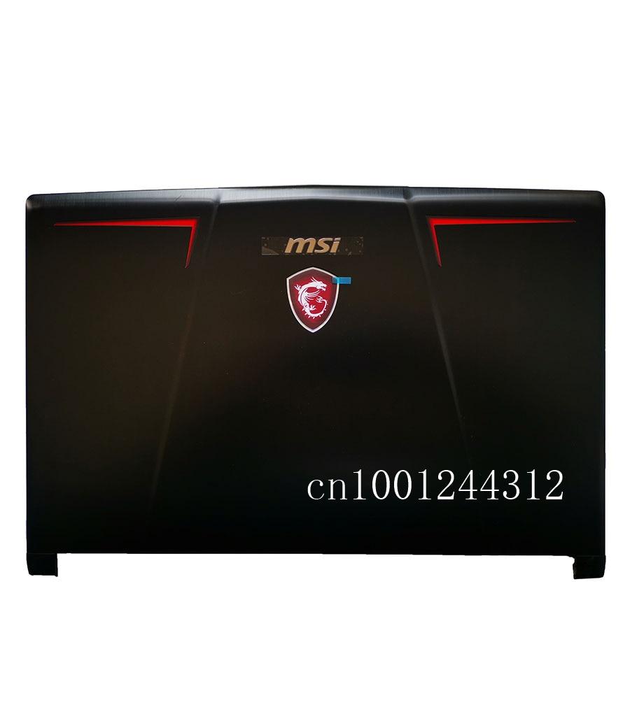 New Original For MSI GP63 16P7 VR LCD Rear Top Lid Back Cover  Metal