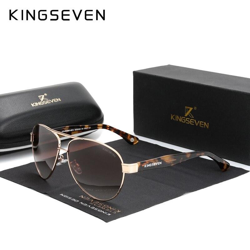 KINGSEVEN 2021 Official Debut Sunglasses Men/Women's Polarized Sun glasses 1