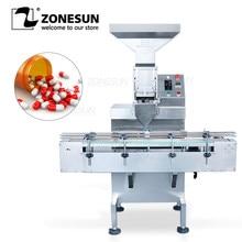 ZONESUN-máquina de llenado automático de cápsulas de ZS-JF8, dispositivo de propulsión automático de gelatina de aceite suave comercial