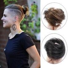 AOOSOO повязка для волос мужской и женский полушар голова парик для волос Сумка Для Мальчиков Маленький парик, парик звезда с такой же прической