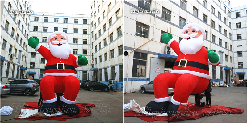 inflatable christmas santa claus3_副本