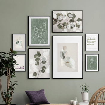 Abstract Wall Art Canvas Painting Leaf Plant Geometry Girl Quotes Nordic Posters And Prints Wall Pictures For Living Room Decor fashion perfume flower quotes wall art canvas painting nordic posters and prints wall pictures for living room girl salon decor