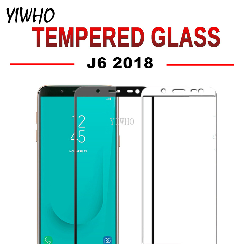 Full Cover Glass For Samsung Galaxy J6 J 6 2018 J600 SM-J600F/DS J600F/DS SM-J600FN J600FN Screen Protector Film Tempered Glass