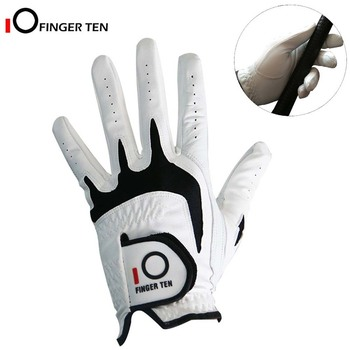 Golf Gloves Men Left Hand Right Hand All Weather Cabretta Leather Grip Small Medium ML Large XL Size