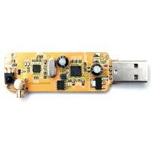 Цифровой DVB-T SDR + DAB + FM HD ТВ тюнер приемник палка RTL2832U + R820T2 набор