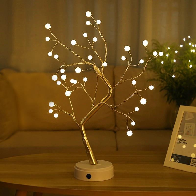 Coquimbo 36/108 LEDS Night Light Bonsai Tree Light Gypsophila Lights Home Party Wedding Indoor Decoration Night Light