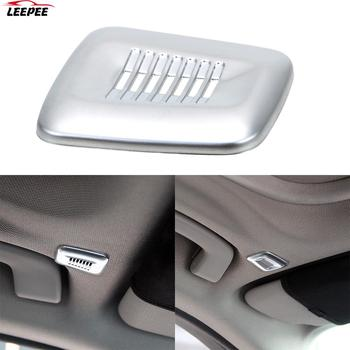 Interior Roof Dome Microphone Cover Trim Car Accessories ABS For BMW F30 F32 F07 F10 F15 F12 F25 X3 X5 3 4 5 6 Series image