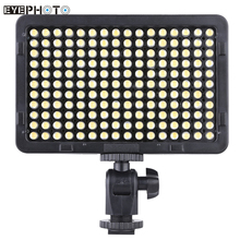 PT-176S 176 LEDs 5600K Tragbare LED Video Licht Panel Lampe Fotografische Beleuchtung für Kanone Nikon Pentax Olympus DSLR Kamera