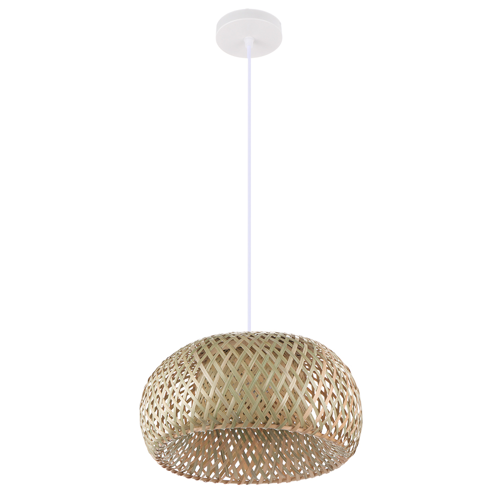 Chinese Style Bamboo Chandelier Exquisite Hand-Woven Lighting Rattan Lamp Retro And Environmentally Friendly Lamp