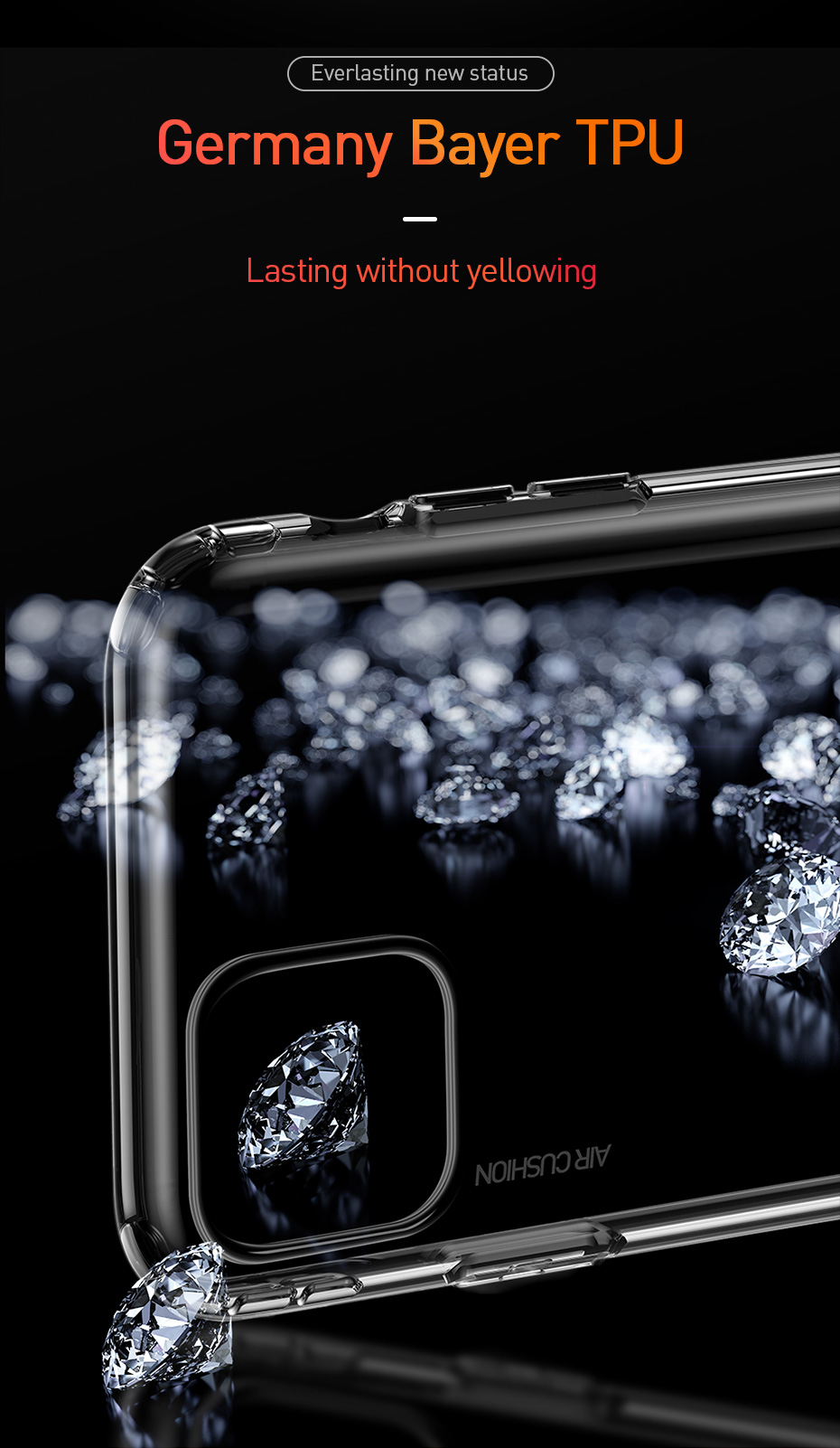 Air Bag Clear TPU Case for iPhone 11/11 Pro/11 Pro Max 6