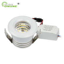 4pc/pack Small Spot it Downlights COB 3W led spots 220v dimmable Light ceiling recessed spot LED recessed spot light spot light 1840104