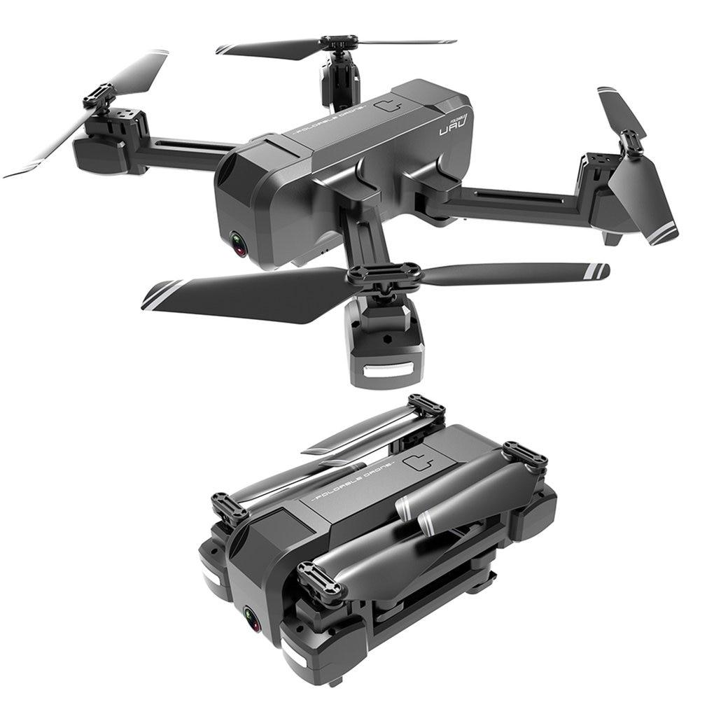 KF607 Quadcopter GPS Drone with 4K HD Dual Camera Wide Angle Anti-shake WIFI FPV RC Foldable Drones Professional GPS Follow Me