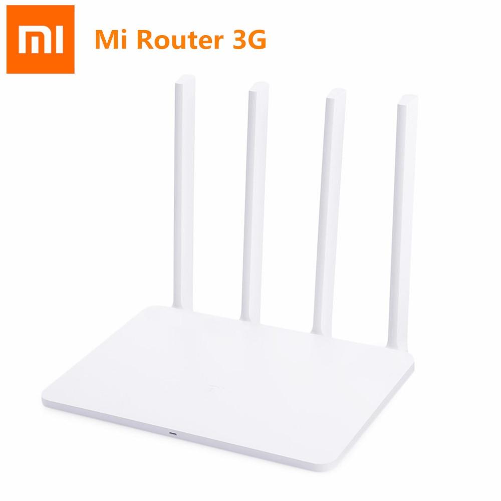 Routeur d'origine Xiao mi mi WiFi 3G 1167Mbps 2.4GHz 5GHz double bande 128 mo ROM APP contrôle mi routeur sans fil prise chinoise