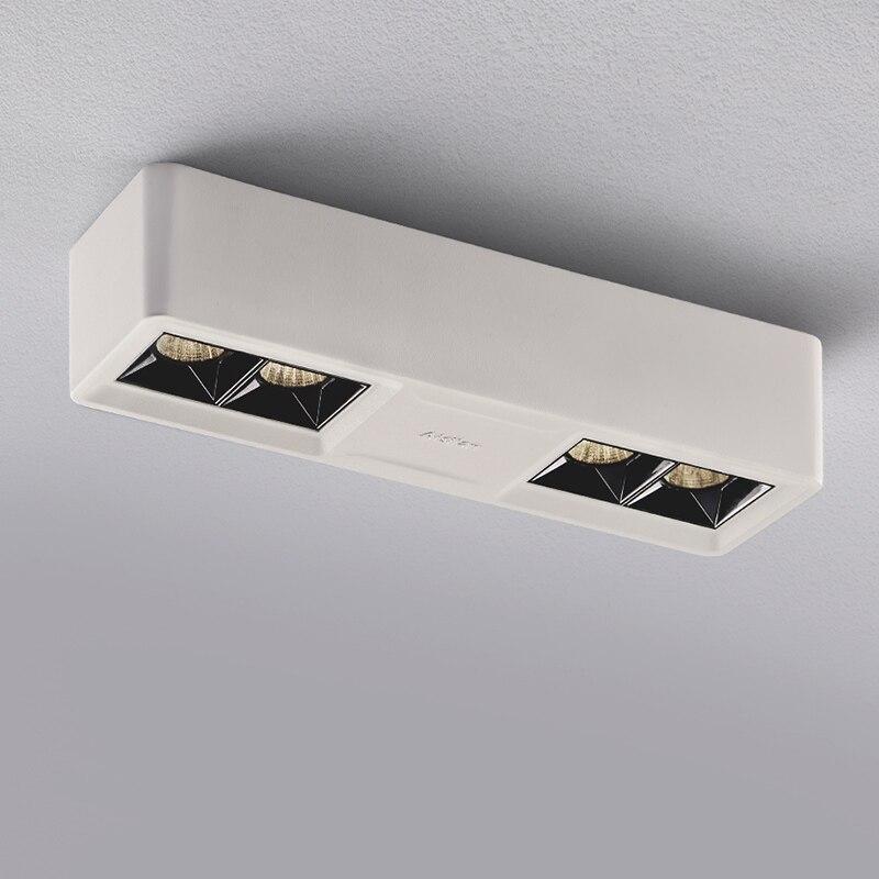 DHL бесплатно для 10 шт. поверхностного монтажа светодиодный потолочный светильник 9 Вт 15 Вт 25 Вт Лицевая панель с подсветкой с водителем теплы... - 2