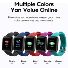 116 Plus Smart Watch 1.3 Inch Tft Color Screen Waterproof Sports Fitness Activity Tracker
