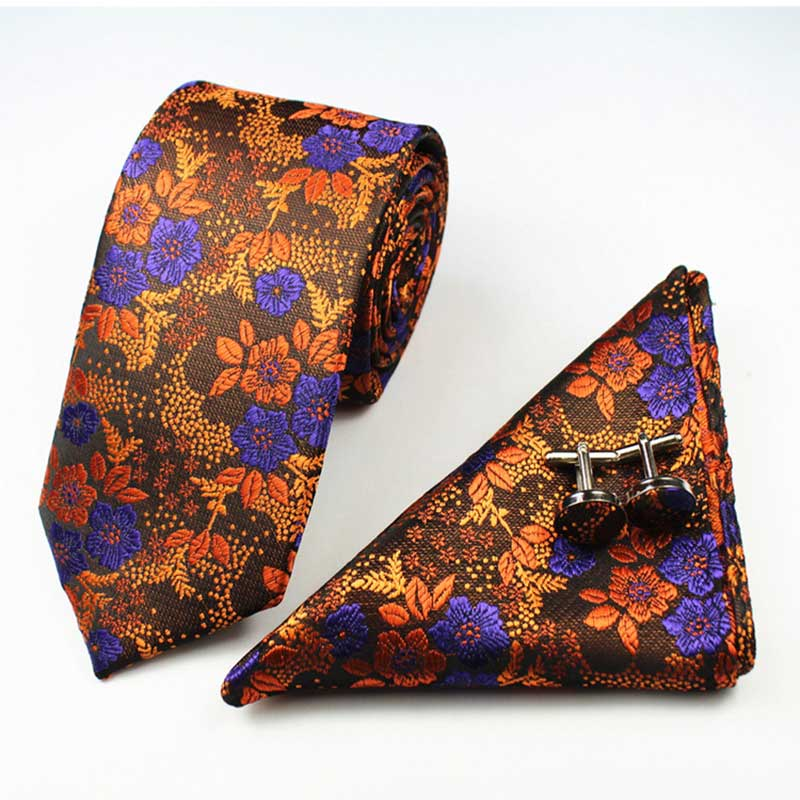 3pcs New Men 39 s Fashion Business Jacquard Tie Ties And Handkerchiefs Cufflinks Set Men 39 s Wedding Party Suit Fashion Neck Tie in Men 39 s Ties amp Handkerchiefs from Apparel Accessories