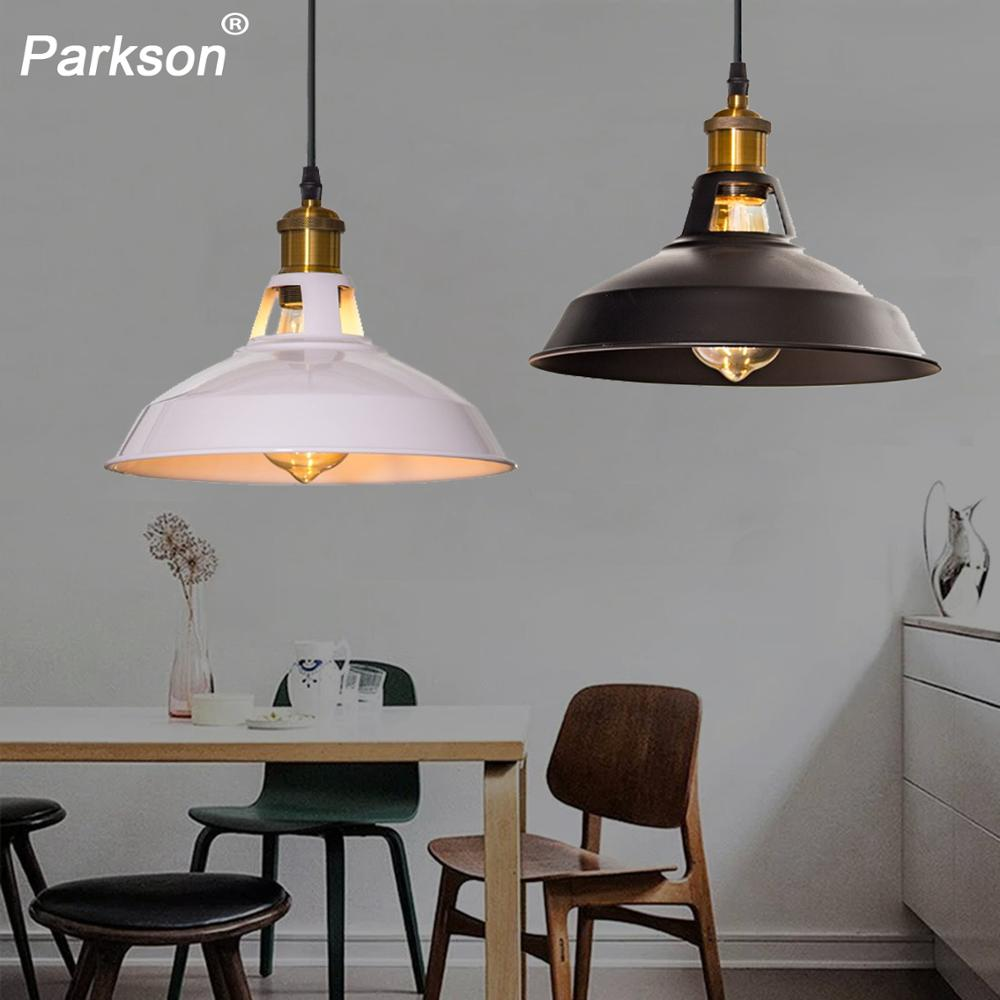 Vintage Pendant Light Iron Art Loft Hanglamp Retro Industrial Hanging Lamp E27 Lampshade For Kitchen Dining Bedroom Home