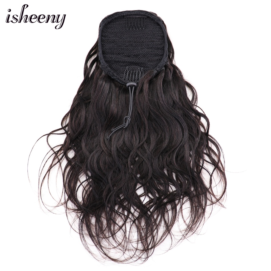 Isheeny Human Hair Ponytail Extensions 8