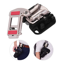 Camera Belt Holster Mount Waist Clip Holder Hanger With 1/4 Inch Screw for Canon Nikon Sony Olympus DSLR Cameras