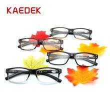 KAEDEK Women's Wear-resistant High Quality Reading Glasses, Spring Hinge Glasses Cloth+50+100+150+200+250+300+350