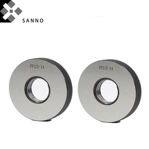 Cylindrical thread ring gauges
