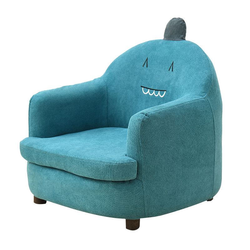 Single Person Sofa Cartoon Girl Boy Lovely Back Chair Read Lazy Person Sofa Simple And Easy Bedroom Small Sofa Can Disassemble E