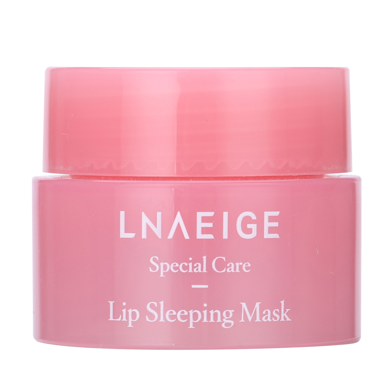 3g South Korea lip care sleep mask night sleep maintenance Moisturizing Lip Gloss Pink Lip bleach cream Nourishing Lip Care 4