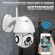 HD 1080P Waterproof IP Wifi Camera Security Surveillance PTZ Camera outdoor CCTV 2MP IR Audio Circular video Surveilance CM.X1