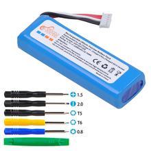 6200mAh bateria głośnika Bluetooth dla JBL Charge 2 + Charge 2 Plus Charge 3 2015 wersja pasuje do JBL GSP1029102R tanie tanio Pickle Power Mp3 mp4 Standardowa bateria