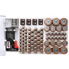 Органайзер тестер емкости аккумуляторов 93 ячейки для aaa aa