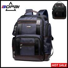 BOPAI Neue Große Kapazität Männer Laptop Rucksack Multifunktionale Schule Rucksack Nylon Wasserdichte Business Reise Rucksack Taschen